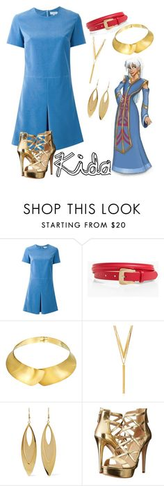 """""""Kida"""" by stella-ari ❤ liked on Polyvore featuring Carven, Talbots, Alexa Starr, BERRICLE, Kenneth Jay Lane and GUESS"""