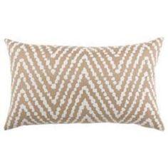 "Elaine Smith Pillows Belgique Ethnic Herringbone - 12"" x 20"""