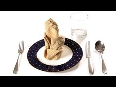 How To Fold A Napkin - With How To Videos