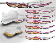 Teva, W Tevasphere Trail Shoe's by designer Cori Steele