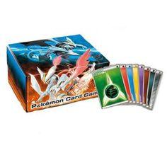 Pokemon 2012 Black White Kyurem Fold Up Large Size Cardboard Storage Box With Energy Cards
