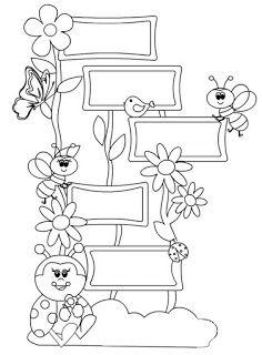 Játékos tanulás és kreativitás: Méhecskés-katicás varázsszavak Art Classroom Decor, Teacher Classroom Decorations, Classroom Themes, Preschool Coloring Pages, Adult Coloring Pages, Tree Crafts, Paper Crafts, Modern Calligraphy Quotes, Art Drawings For Kids