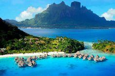 A 45 minutos de la Polinesia Francesa, encontramos el archipi%C3%A9lago de Bora Bora, el cual sorprende a todos sus visitantes gracias al azul de sus aguas, la tranquilidad que rodea la zona (est%C3%A1 en medio de la inmensidad del Oc%C3%A9ano Pac%C3%ADfico) y su exclusividad. Y para muestra tenemos este Resort de la cadena Hilton, que cuenta con peculiares suites decoradas con caoba y...
