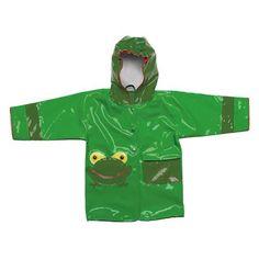 Kidorable Frog Raincoat, Choose Size
