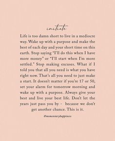 10 Quotes for Motivation! on We Heart It <br> Happy Monday peeps! Let's get it started with 10 quotes guaranteed to leave you seriously motivated! Motivacional Quotes, Words Quotes, Sayings, Qoutes, Daily Quotes, Drama Quotes, Reminder Quotes, Self Love Quotes, Quotes To Live By