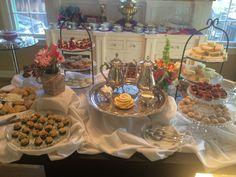 ~ Children's Tea Party/Adult Luncheon Duo ~ #TeaParty #EnglishTea #tea #BoneChina #silver #antique #elegant #antique #catering #TeaTraditions  www.ttraditions.com