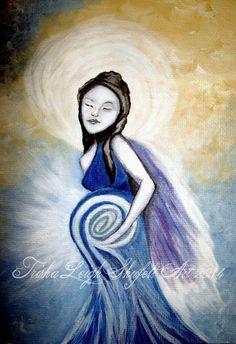 Angel Spirit of Creativity (c) 2014 Trisha Leigh shufelt