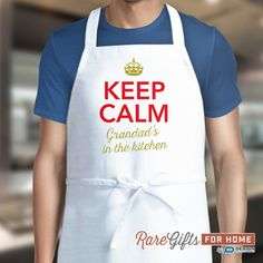 Grandad Gift Awesome Birthday Funny Apron Cooking Grandads In The Kitchen Personalized Shirt