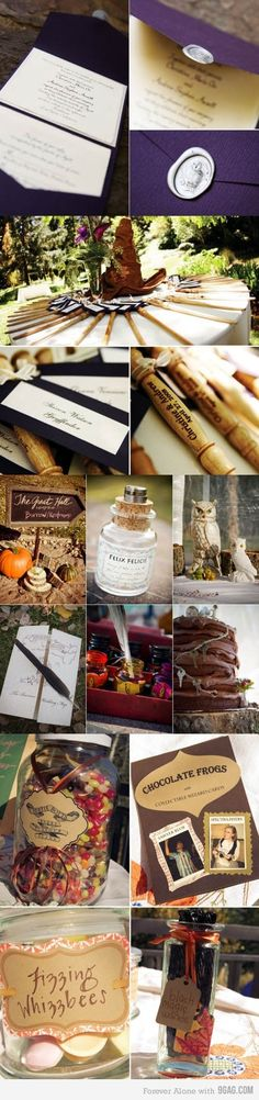 Harry Potter wedding :)