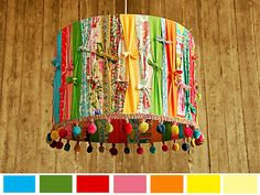 Peppered Baklava - Designer Lamp Shade. Decorative Home Lighting. $80.00, via Etsy.