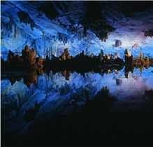 Reed Flute Cave, Guangxi Autonomous Region, People's Republic of China, 1999 Raymond Gehman