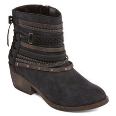 e4fcdccb39be Pop Womens Sarene Booties Block Heel Zip - JCPenney. Winter BootsBlock Heels Shoes ...