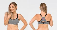 It's what breastfeeding mums have been waiting for - a range of activewear and sports bras with nursing access from Cadanshae.
