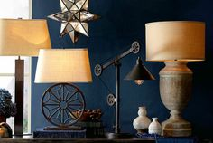 Color Story: Indigo | Pottery Barn - look at us - right on trend - the pottery barn catalog is all about indigo!