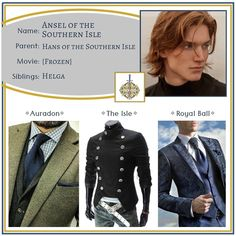 """Descendants OCs on Instagram: """"Ansel ✧ Son of Hans •••••••••••••••••••••••••••••••••••••••••••••• Feel free to use this character however you like - just please tell me…"""" Descendants Cast, Disney Descendants, Dress Outfits, Cool Outfits, Dresses, Disney Themed Outfits, Teen Wolf, Fairy Tales, Parenting"""