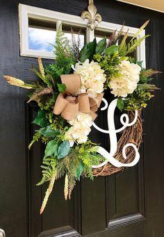 BEST SELLER Spring Wreaths for Front Door Front Door