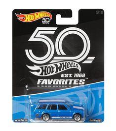US-Deals Cars Hot Wheels 50th Anniversary Favorites '71 Datsun Bluebird 510 Wagon 1/64 Scale: $26.99 End Date: Friday Jun-8-2018…%#USDeals%