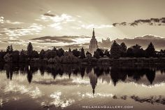 Idaho Falls LDS Temple AWAKENING | Matte Photo Print | FREE Shipping