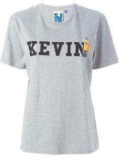 SJYP Minion print T-shirt #t-shirt #offduty #covetme #sjyp