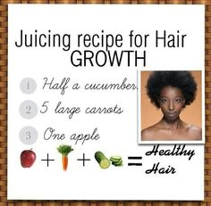 Juice Recipe for Hair Growth.