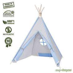 my-teepee Play Tent Made in Germany natural by myteepeegermany