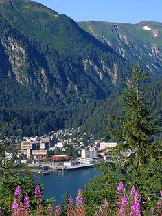 Juneau, Alaska...would like to go someday!