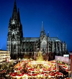 Cathedral Christmas Market, Cologne, Germany