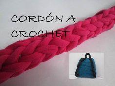 Tutorial cordón básico crochet/ganchillo, manual - YouTube