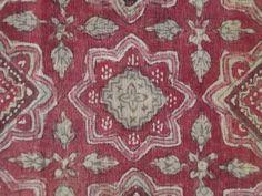 INDIAN SARASA ・ 手描き印度更紗