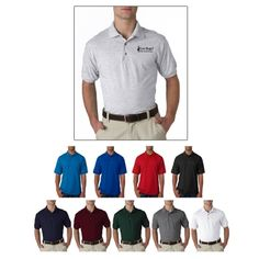 614609f99 #G8800 Gildan DryBlend® Adult Jersey Polo Golf Shirts, Sports Shirts,  Promotional Events