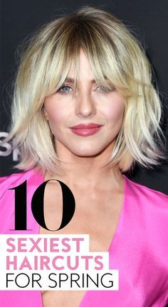 The Top 10 Sexiest Haircuts for Spring The Top 10 Sexiest Haircuts for Spring Sabine Teeten sabineteeten Hair and Beauty 10 sexiest haircuts for spring springhaircuts hairstyles haircutideas nbsp hellip 2019 Medium Hair Styles, Curly Hair Styles, Medium Fine Hair, Hot Haircuts, Hairstyles Haircuts, Hairstyles For Long Faces, Choppy Haircuts, Blonde Bob Hairstyles, Medium Bob Hairstyles