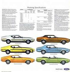 1971 Ford Mustang Brochure