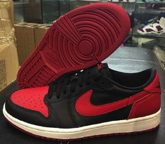 "separation shoes 0299c f2d0a Air Jordan 1 Retro Low OG ""Bred"" - Air 23 - Air Jordan Release Dates,  Foamposite, Air Max, and"