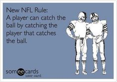 Screw you, NFL replacement refs. Gooddell making a mockery of the NFL.