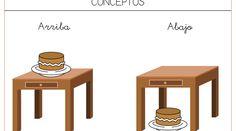 Recursos educativos: Conceptos básicos Los conceptos báscios son un aprendizaje fundamental: Conceptos espaciales: Dentro-fuera. Delante-detrás. Arriba-Abajo Conceptos cuantitativos: Muchos-pocos. Grande-pequeño.