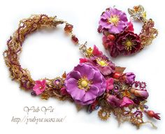 Nectar necklace and bracelet | Flickr - Photo Sharing!