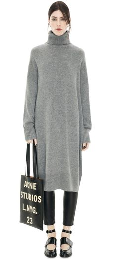 Acne Liston Wool Grey Melange-a little too big, but like the concept.