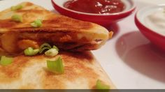 Easy Chicken Quesadilla Recipe - YouTube