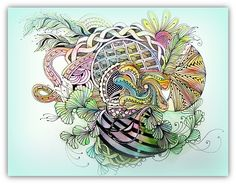 Tangling during conference 3 | Flickr - Photo Sharing!