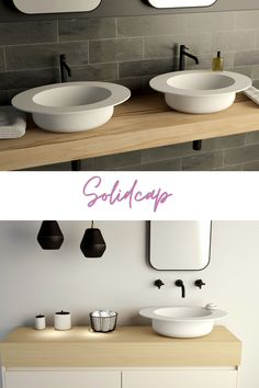 Solidcap Series -Solidsurface mat Beyond The Ordinary Inspired by the Multiform World of Hats Designed By Flavio Scalzo