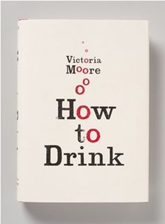 """How to Drink"" book cover by Here Design, via From up North"