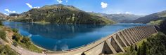 Pano du barrage de Roselend, Beaufort, France. | by Christophe Meusy