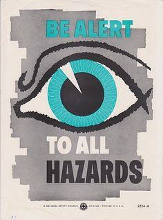 Vintage Goodness - A Blog For All The Vintage Geeks: Vintage Safety Posters Are BACK On Etsy!