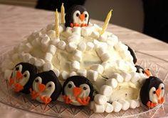 penguin party for a winter birthday