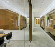 Dulles Glass offers various glass walls etc.