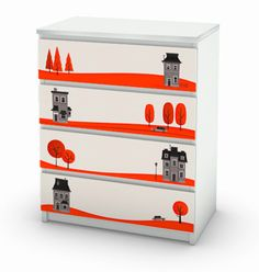 MyKEA decals turn boring IKEA furniture swanky