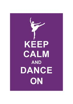 Keep Calm and Dance On: Personalized custom color Wedding Birthday Anniversary Gift Children Decor Kids Dance School- BUY 2 Get 1 Free. $10.80, via Etsy.