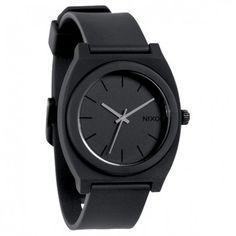 Nixon Mens Watch Time Teller P Matte Black