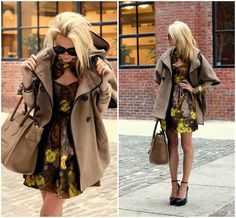 <3 this look...Love and want that coat