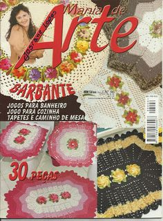 Josi Artesanatos: Revista Mania De Arte Nº 6 Bia Moreira